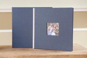 Vintage Lino Blue Jeans con Ventana y Trasera Loyal